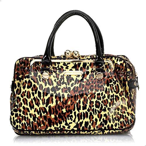 Betsey Johnson Liquid Leopard Handbag