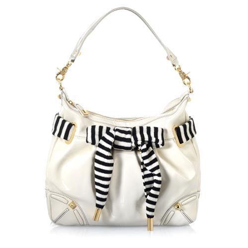 Betsey Johnson Ms. Mod Large Hobo Handbag