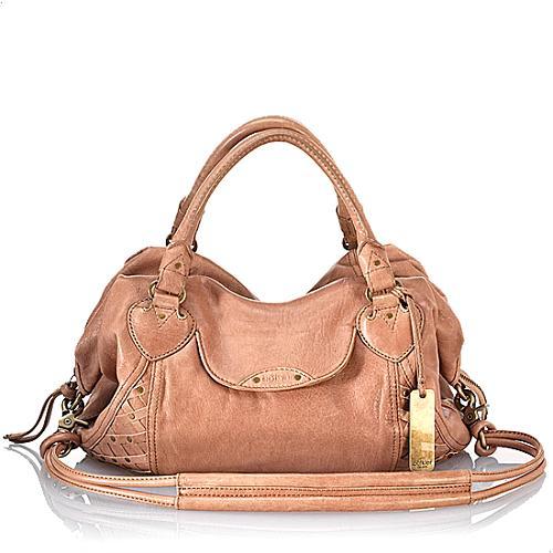 Botkier Leather Claudia Satchel Handbag