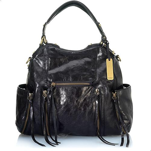 Botkier Leather Logan North/South Satchel Handbag