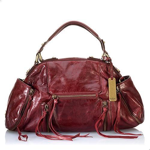 Botkier Leather Logan Satchel Handbag