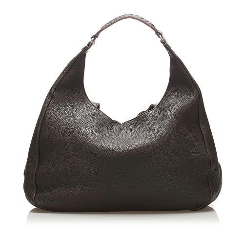 Bottega Veneta Campana Leather Hobo Bag