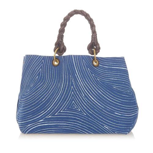 Bottega Veneta Canvas Tote Bag