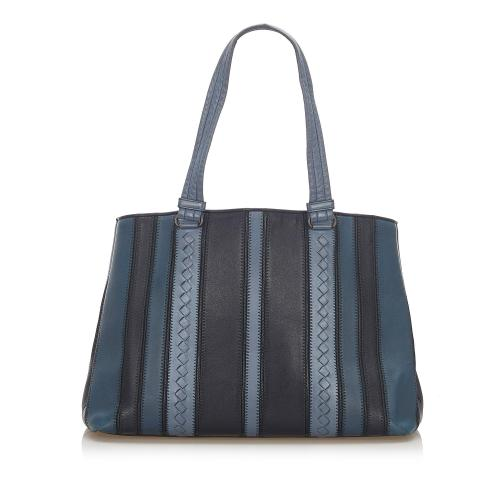 Bottega Veneta Cervo Leather Tote Bag