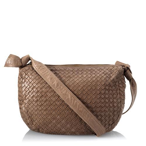 Bottega Veneta Intrecciato Hobo Handbag