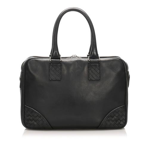 Bottega Veneta Intrecciato Leather Business Bag