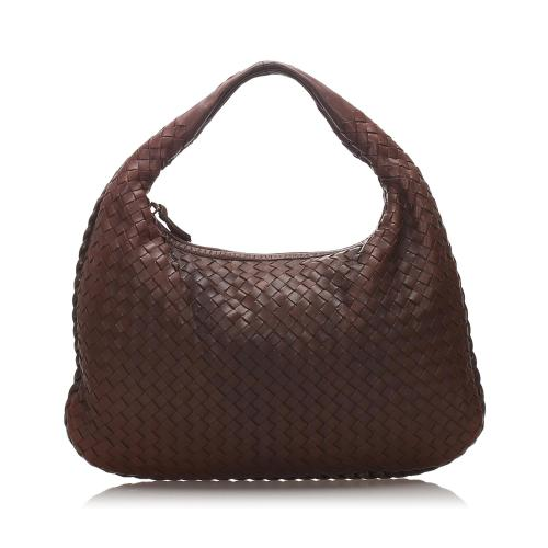Bottega Veneta Intrecciato Leather Hobo
