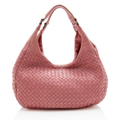 Bottega Veneta Intrecciato Nappa Campana Medium Shoulder Bag