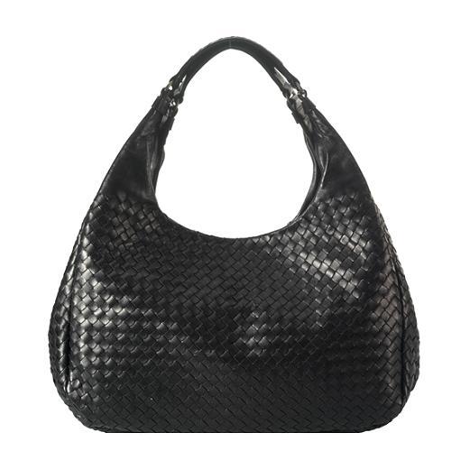 Bottega Veneta Intrecciato Nappa Campana Shoulder Handbag