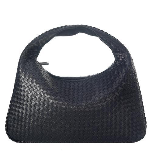 Bottega Veneta Intrecciato Nappa Large Hobo Handbag