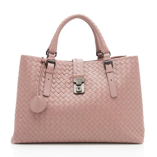 99fd093f89 Bottega-Veneta-Intrecciato-Nappa-Roma-Medium-Satchel 98777 front large 0.jpg