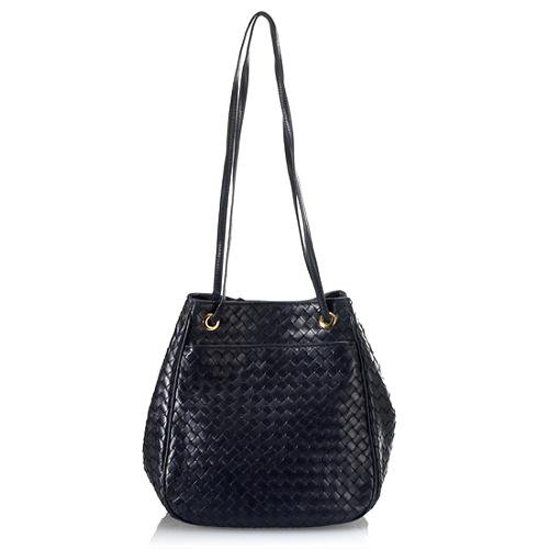 Bottega Veneta Intrecciato Shoulder Handbag