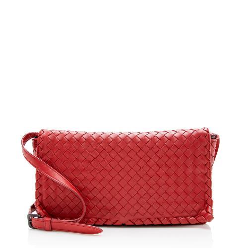 Bottega Veneta Intrecciato Woven Shoulder Bag