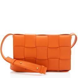 Bottega Veneta Lambskin Cassette Crossbody Bag