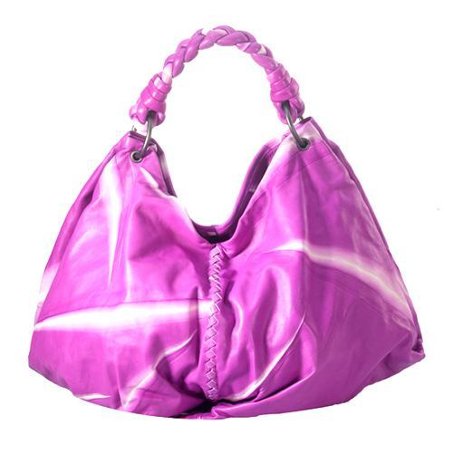 Bottega Veneta Large Tie Dye Hobo Handbag