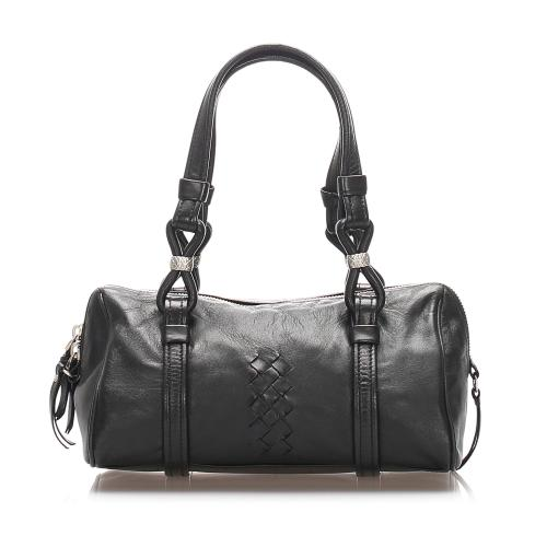 Bottega Veneta Leather Satchel