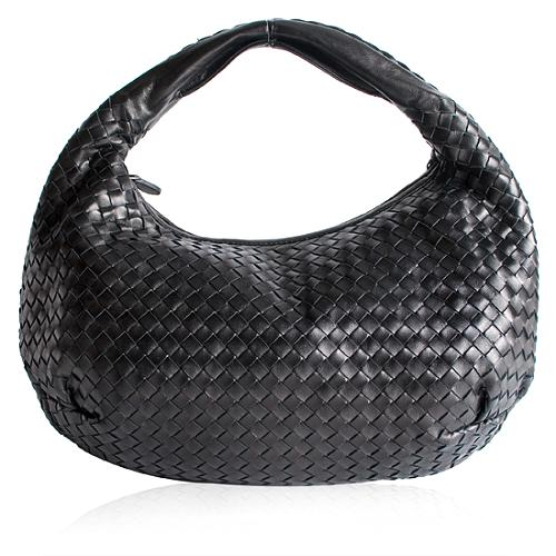 Bottega Veneta Nappa Intrecciato Hobo Handbag