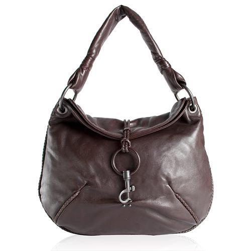Bottega Veneta Nappa Knot Hobo Handbag