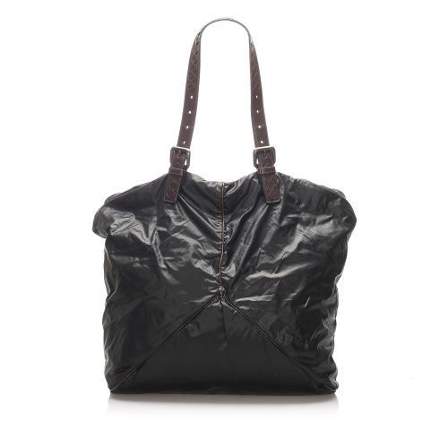 Bottega Veneta Nylon Tote Bag