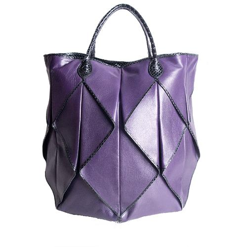 Bottega Veneta Origami Leather Tote