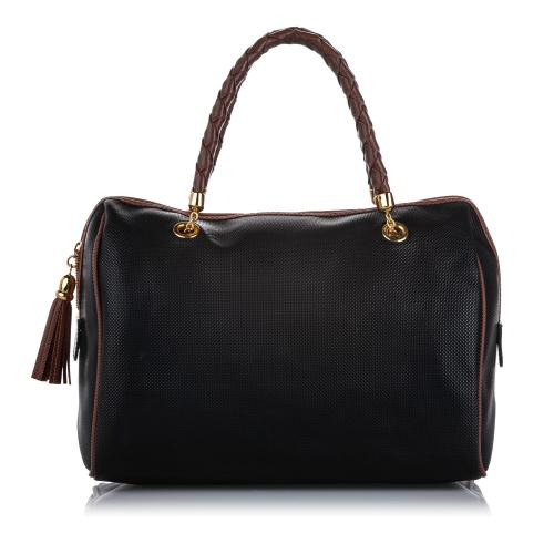 Bottega Veneta PVC Boston Bag