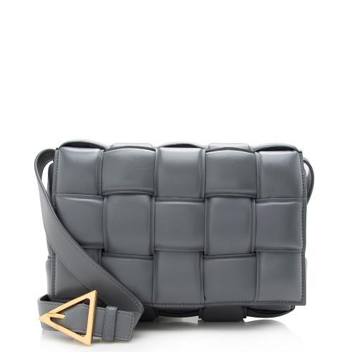 Bottega Veneta Puffed Leather Cassette Crossbody Bag