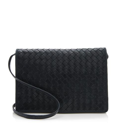 ... Bottega Veneta Vintage Intrecciato Nappa Flap Shoulder Bag latest  design a1254 27f22 ... 69e1987bf76e9
