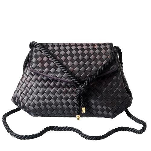 Bottega Veneta Woven Evening Handbag