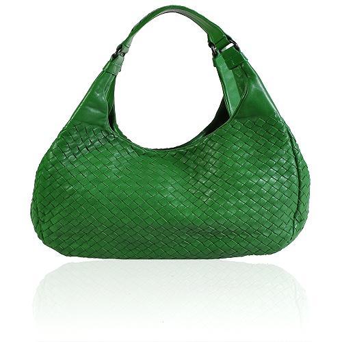 Bottega Veneta Woven Hobo Handbag