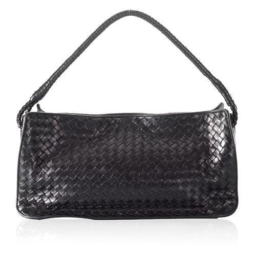 Bottega Veneta Woven Leather Small Shoulder Handbag