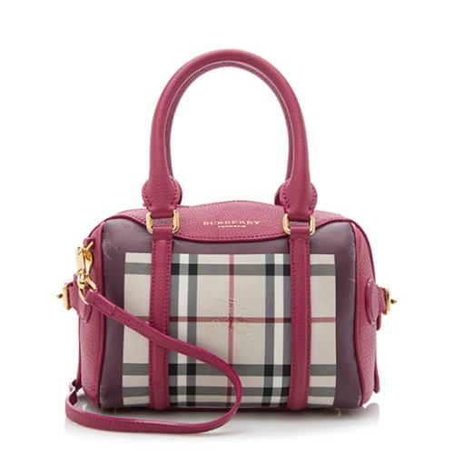 Burberry Prorsum Horseferry Check Little Bee Satchel - FINAL SALE