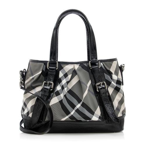 34ac1d3aea53 Burberry Black And White Check Handbag - Foto Handbag All ...