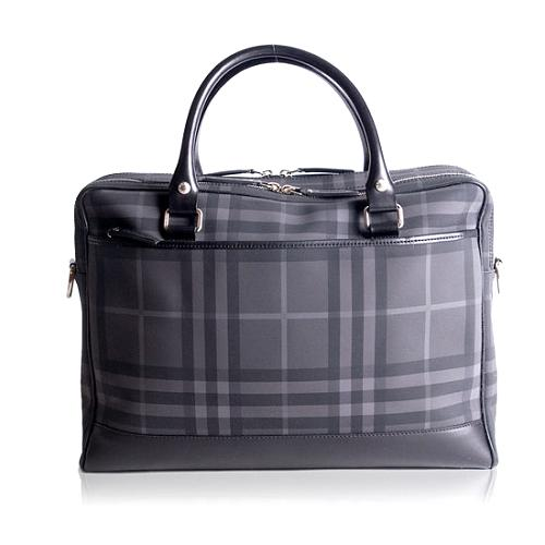 Burberry Brit Laptop Messenger Handbag