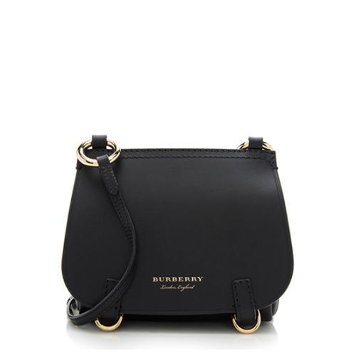 Burberry Calfskin Baby Bridle Crossbody Bag
