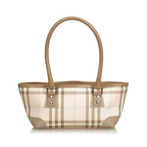Burberry Candy Check Satchel