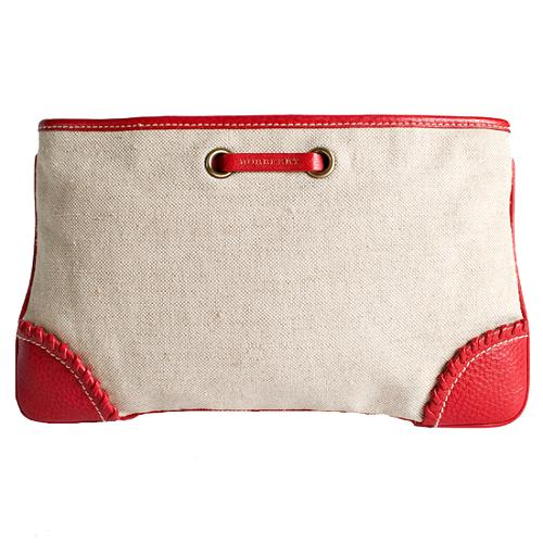 Burberry Canvas Cosmetic Case