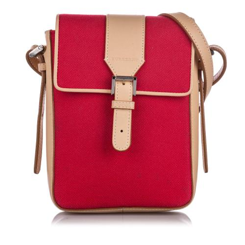 Burberry Canvas Crossbody Bag