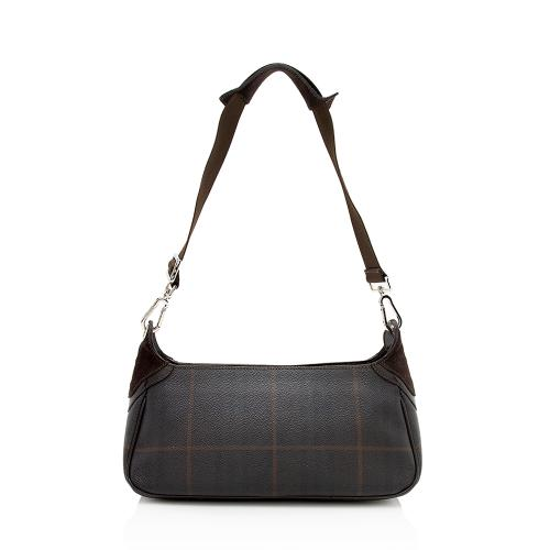Burberry Check Small Shoulder Bag