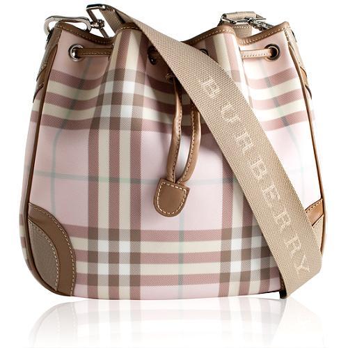 Burberry Drawstring Shoulder Handbag