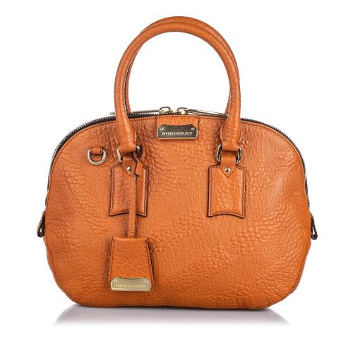 Burberry Grained Leather Orchard Satchel