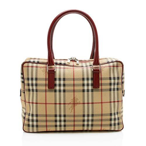 Burberry Haymarket Check Briefcase