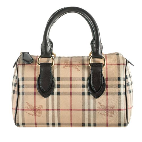 bd87d879f152 Burberry Haymarket Check  Chester  Small Satchel Handbag