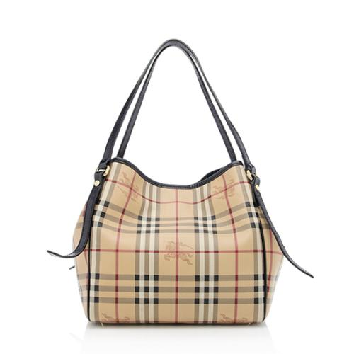 67fa14eeab58 Burberry-Haymarket-Check-Small-Canterbury-Tote 77354 front large 1.jpg