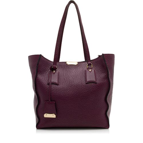 Burberry Heritage Grain Leather Woodbury Tote - FINAL SALE