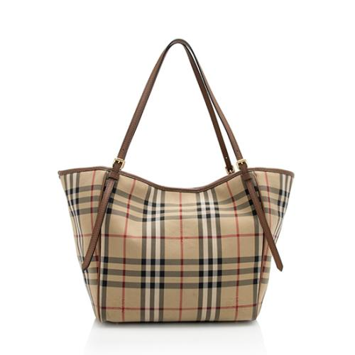 Burberry Horseferry Check Canterbury Small Tote