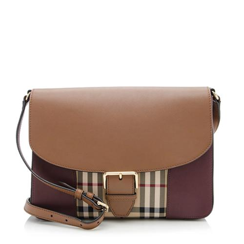 Burberry Horseferry Check Dickens Small Crossbody Bag