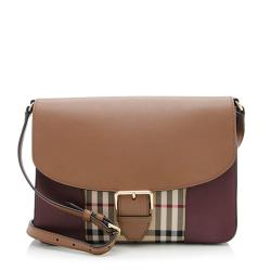 Burberry Horseferry Check Dickens Small Crossbody Bag