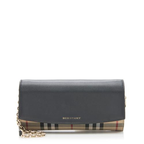 Burberry-Horseferry-Check-Henley-Wallet-On-Chain-Bag 95613 front large 0.jpg 7f1f4c81f0424