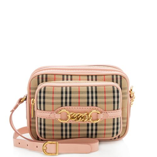 Burberry Horseferry Check Link Camera Bag