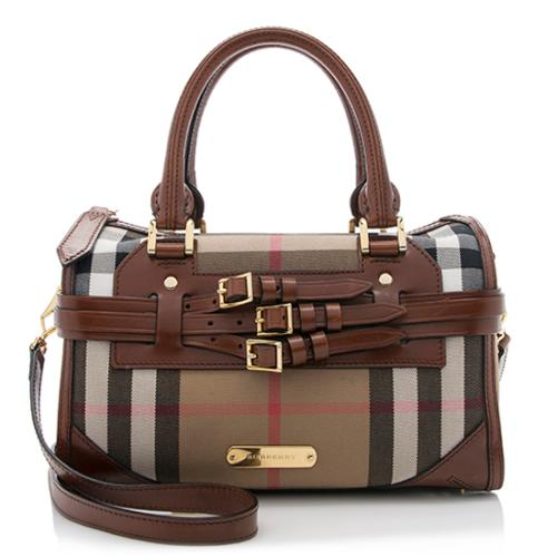 Burberry-House-Check-Bridle-Belted-Medium -Bowling-Bag 84212 front large 0.jpg 28c07b600d6e1